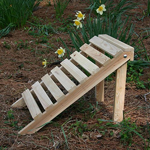 - Designed For Outdoors Hometown Cypress Adirondack Footrest