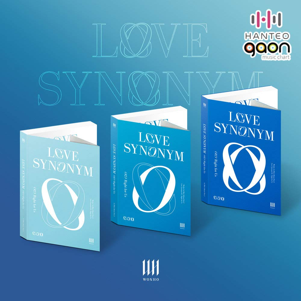WONHO - Love Synonym #2 : Right Covers All SET incl. Us For 25% OFF Challenge the lowest price CD