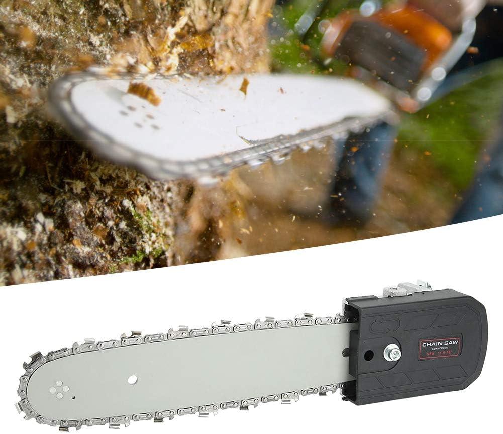 Nannday Juego de Motosierra, Amoladora eléctrica de 11.5 in Sierra de Cadena Afilado de ángulo Motosierra Kit de Soporte Herramientas de jardinería