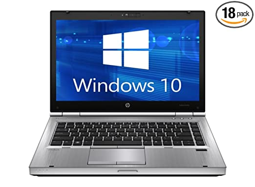 HP Elitebook 8470p Laptop WEBCAM - Core i5 2.6ghz - 8GB DDR3 - 500GB HDD - DVDRW - Windows 10 64bit - (Certified Refurbished)