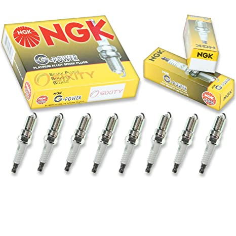 Amazon.com: NGK G-Power 8pcs Spark Plugs GMC Sierra 1500 99-13 Denali 6.2L 6.0L 5.3L: Automotive
