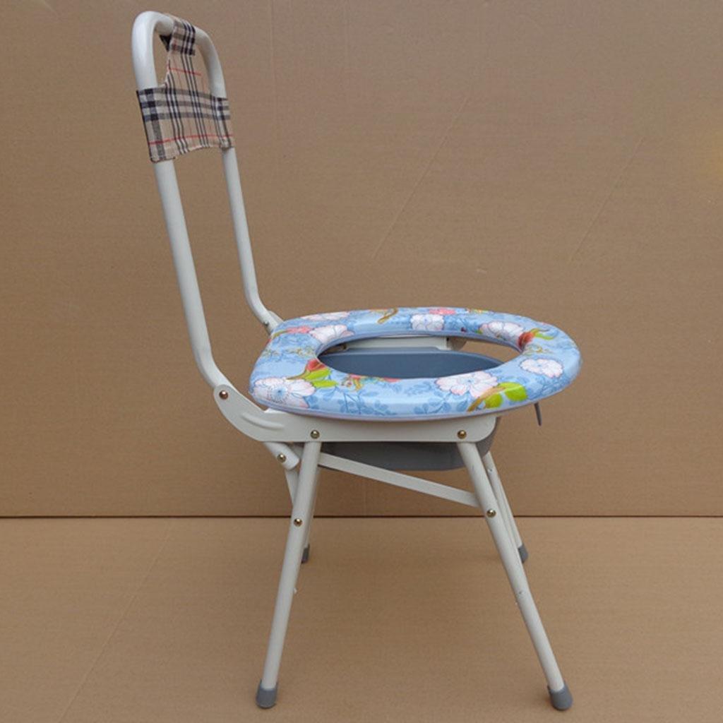 KopfendeCommode WC-Sitz kann gefaltet schwangere Frauen Ältere Mobiltoilette werden
