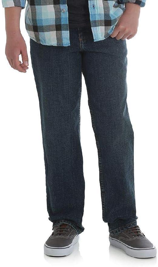 Slim Fit Wrangler Boys Five Star Premium Denim Classic Boot Fit Jeans Medium Wash, 8 Slim, 10 Slim