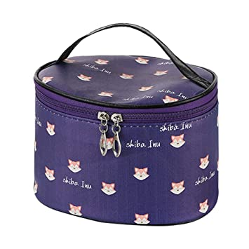 d73e857f5be5 Cityeast Makeup Cosmetic Cases Professional PU Toiletry Bag ...