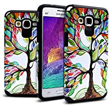 Galaxy Grand Prime Case Shockproof, Miss Arts [Pattern Series] Slim Anti-Scratch with [Gift Box] [Drop Protection] Heavy Duty Dual layer Case Cover for Samsung Galaxy Grand Prime G530 -[Tree]