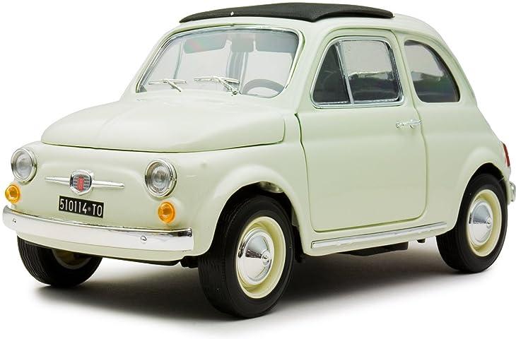 京商EGG 1/18ダイキャストミニカー フィアット500F 1965 ホワイト