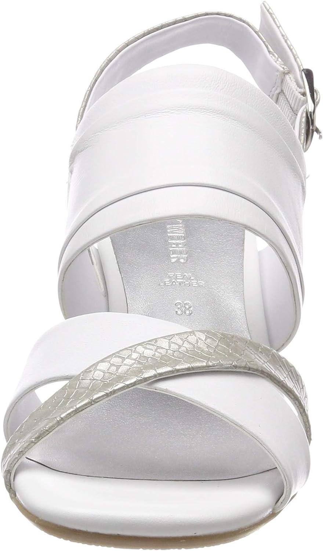 Gerry Weber Shoes Florenz 01 Sandalias de Tal/ón Abierto para Mujer