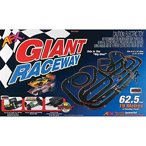 AFX AFX21017 Giant (MG+) Set with Lap Counter
