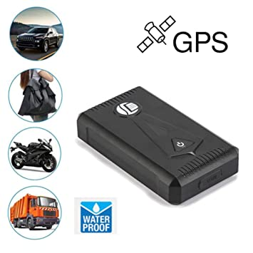 gotd impermeable tk800 GPS Tiempo Real de seguimiento de coche dispositivo potente imán vehículo Tracker: Amazon.es: Jardín