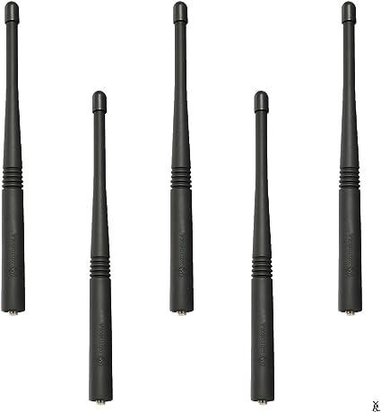 136-178MHz VHF Antenna 7.0 Inch for Motorola HT1000 JT1000 MTX800 MT2000 MTS2000