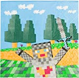 Forum Novelties Minecraft Napkins - Party Supplies