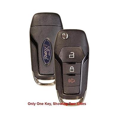 OEM Ford Flip Key Fob Keyless Entry Remote (FCC ID: N5F-AO8TAA / P/N: 164-R8130): Automotive