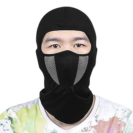 Cagoule masque NEUF face mask motorcycle NEW cache nez de protection