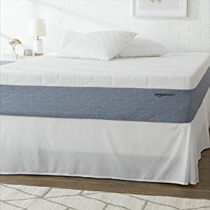 AmazonBasics Cooling Gel-Infused Memory Foam Mattress - Medium Firmness, CertiPUR-US Certified - 12 Inch, King
