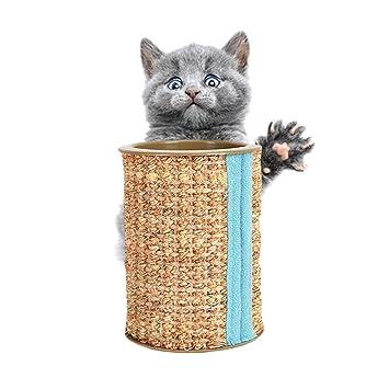 Hifuture Tablero del rasguño Juguete para Gatos sisal ...