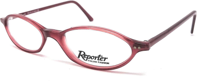 Reporter Gafas de vista para mujer R 966 T89, color rojo ovalado