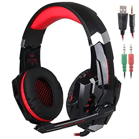 Amazoncom Kotion Each G9000 35mm Game Gaming Headphone Headset