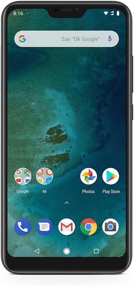 Amazon.com: Xiaomi Mi A2 Lite 64GB + 4GB RAM, Dual camera ...