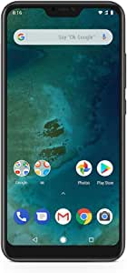 Xiaomi Mi A2 Lite 64GB + 4GB RAM, Dual Camera, LTE AndroidOne Smartphone - International Global Version (Black)