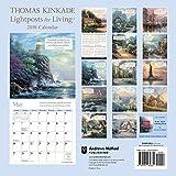 ISBN: 1449482864 - Thomas Kinkade Lightposts for Living 2018 Wall Calendar
