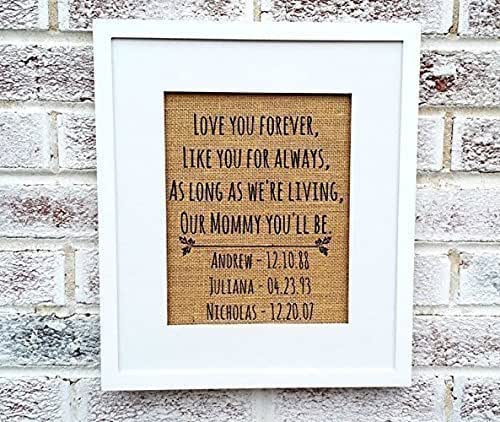 Amazon.com: Love you forever sign, mothers day gifts from