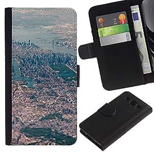 TaiTech / - Ver Big City Paisaje del río - Samsung Galaxy S3 III I9300