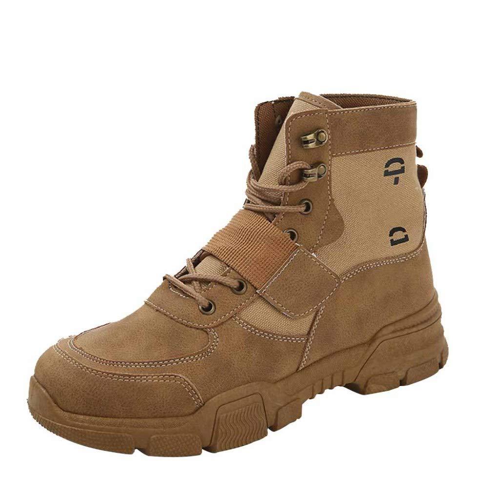 Winter Herrenschuhe Retro Hohe Hilfe Martin Stiefel Werkzeug Schuhe Casual Warme Schuhe Leder Knöchel Turnschuhe Outdoor Hohe Spitzenschuhe