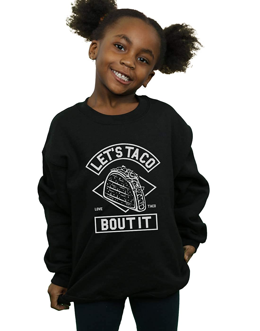 Absolute Cult Drewbacca Girls Lets Taco Bout It Sweatshirt