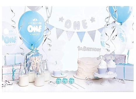 P D Box Addobbi E Decorazioni Primo Compleanno 3 Lecca Lecca Set 1