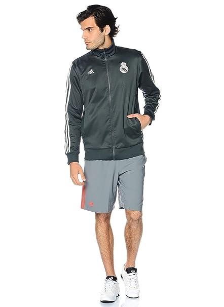 adidas - Chándal - para Hombre Gris Solid Grey XS: Amazon.es: Ropa ...