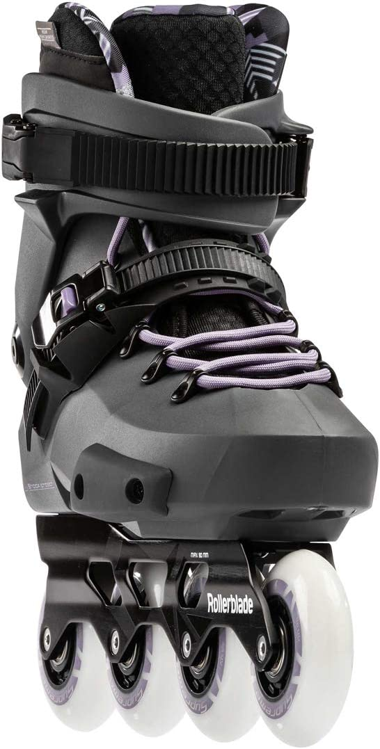 Anthracite//Lilac 250 Women Rollerblade Twister Edge W Skates Grey
