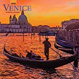Venice 2020 12 x 12 Inch Monthly Square Wall Calendar, Scenic Travel Europe Italy