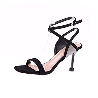 dcb33f5797f5 Slingback High Heels Shoes Glitter Paillette Wedding Women Pumps Ladies  Strap Up Sandals