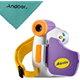 Docooler Amkov DV-C7 Digital Camera for Kid 1080P Video Camcorder 1.44inch TFT Display Multiple Languages Children Andoer Cleaning Cloth