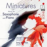 Miniatures for Saxophone & Piano by Gauthier, Daniel (2003-04-22)