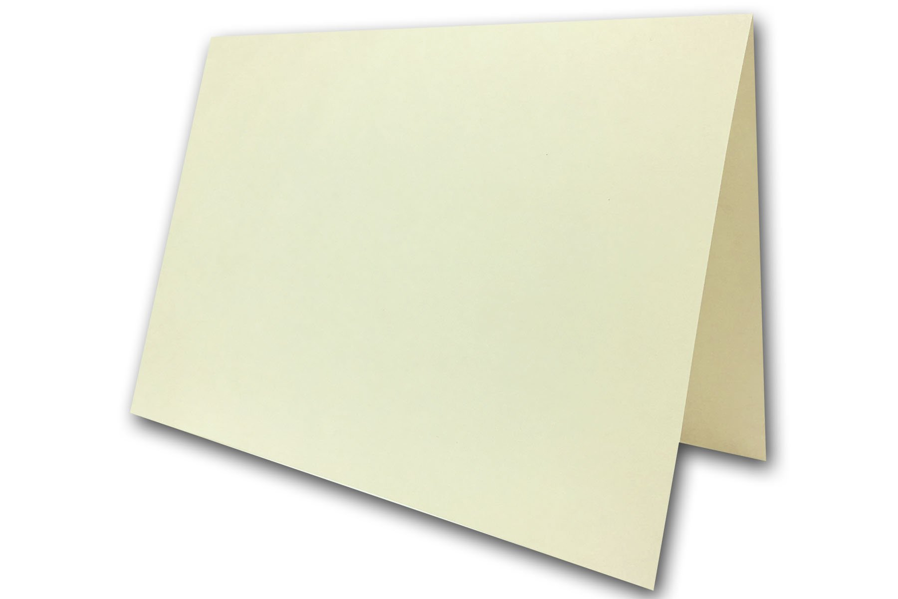 Blank A7 Folded 5 X 7 Greeting Cards Lightweight 74 Cover 100 Pack