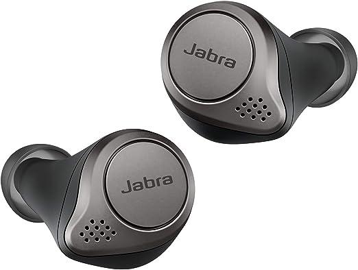 Jabra Elite 75t - Auriculares Bluetooth con Cancelación Activa de Ruido y batería de larga duración, Llamadas y música verdaderamente inalámbricas, Negro Titanio: Amazon.es: Electrónica