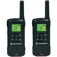 Motorola Paire de talkies walkies Motorola T60 portée en champs libre 8km Noir