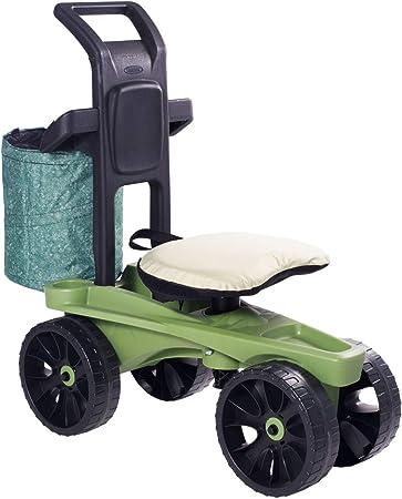 Premium Sit N Scoot XTV Seat Garden Cart