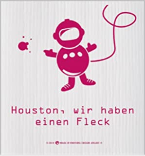 """House of Emotions Spüllappen /""""...ein Nachspül/"""" Abwaschlappen Lappen Putztuch"""