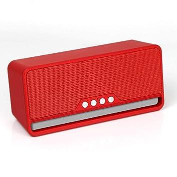 ZJHNZS Altavoz Bluetooth Altavoz inalámbrico Bluetooth subwoofer ...