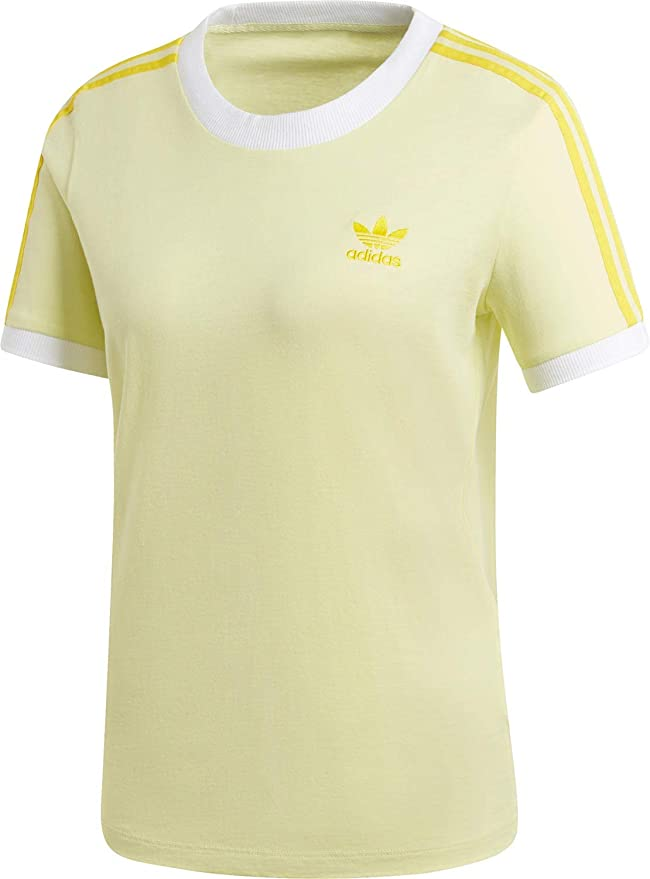 adidas 3 STR W Camiseta Ice Yellow: Amazon.es: Ropa y accesorios