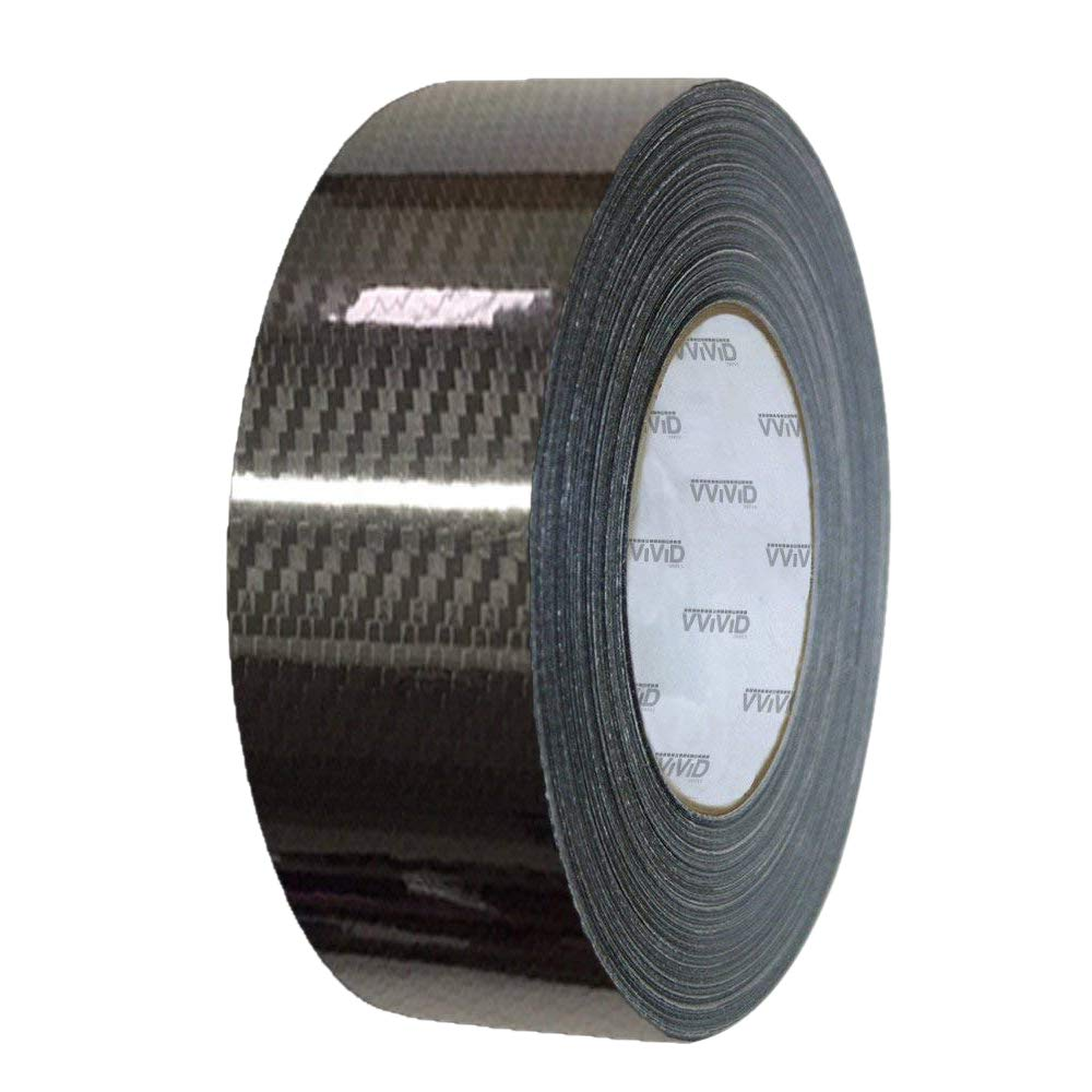 Gunmetal Grey VViViD Dry Carbon Fibre Detailing Vinyl Wrap Tape 2 x 20ft Roll DIY