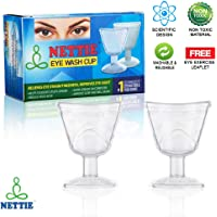 Simon's Nettie Eye Wash Cup - Pack Of 2 (Tranparent)