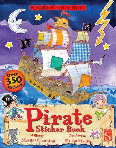 Pirate Sticker Book (Scribblers Fun Activity) (Pirate Activity Ship Sticker)