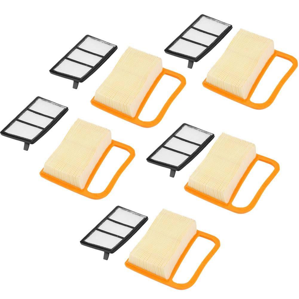 Filtre à air, Akozon 5Pcs filtre à air pour STIHL TS410 TS420
