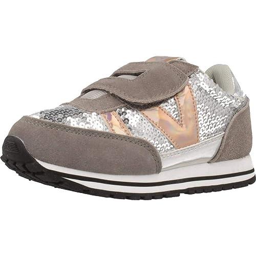 Victoria Jogging Velcro Lentejuelas, Zapatillas para Niñas: Amazon.es: Zapatos y complementos