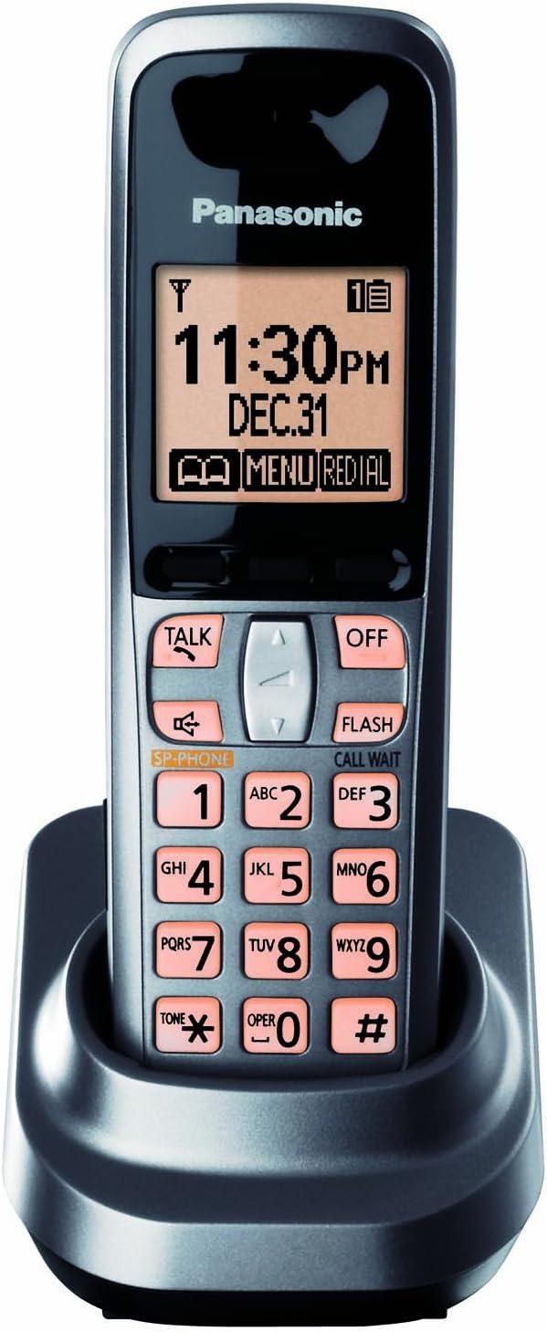 Panasonic KX-TGA106M Extra Handset for KX-TG1061M and KX-TG1062M, Metallic Grey (KXTGA106M): Amazon.es: Electrónica