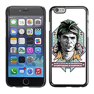 CaseCaptain Carcasa Funda Case - Apple Iphone 6 PLUS 5.5 / Funny MacGyver Illustration /