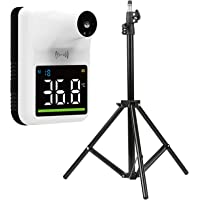 Decdeal Wall Mounted Non-contact IR Thermometer, Tripod Bracket,Tripod Support for Thermometer Adjustable Height 1.6M 1…
